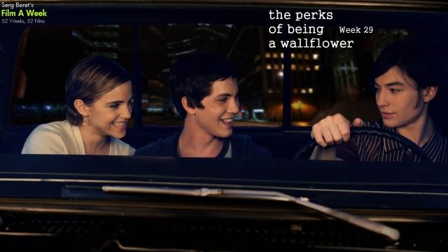 PerksOfBeingAWallflowerFilmAWeek