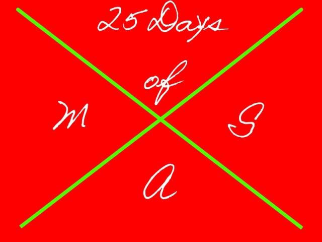 Begins December 1-December 25