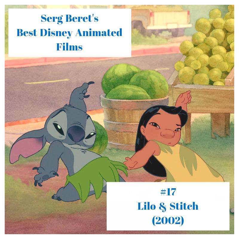 Serg Beret S Best Disney Animated Films 17 Lilo Stitch 2002 The New Serg Beret